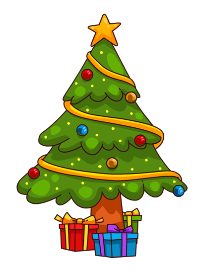 Christmas Tree clipart new year tree Xmas Tree Border Tree Clip