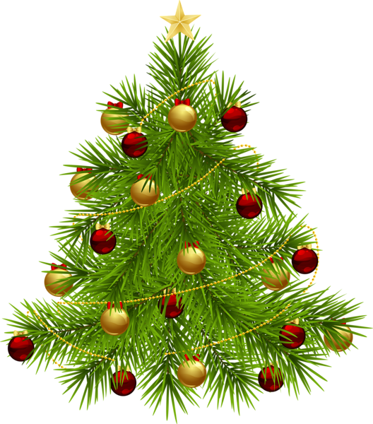 Christmas Tree clipart new year tree With PNG Ornaments Tree Christmas