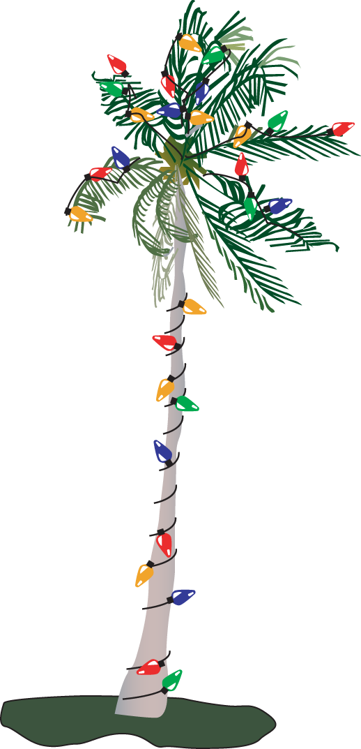 Christmas Tree clipart palm tree Clip Graphic Tree  image
