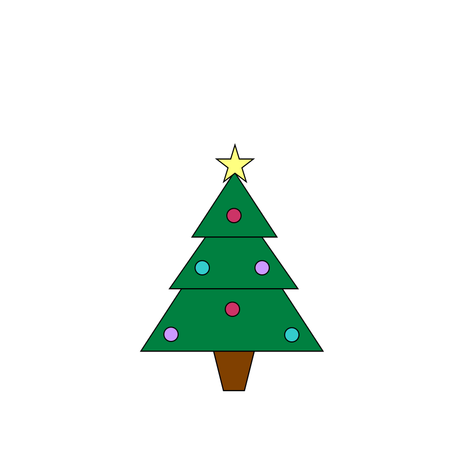 Christmas Tree clipart pastel Tree clip clipart 2 Christmas