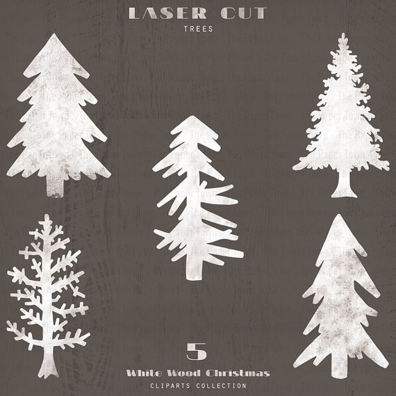 Christmas Tree clipart rustic Christmas Woodland from 5 Laser