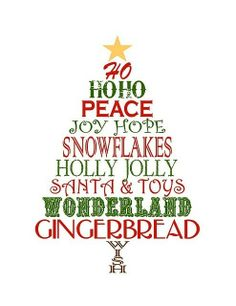 Christmas Tree clipart rustic Clipart Clipart christmas word Christmas