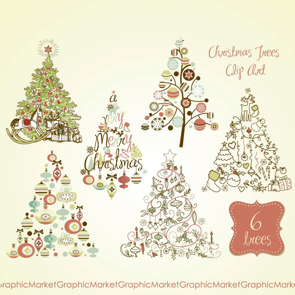 Christmas Tree clipart rustic 17 Clip Tree Clip Clip