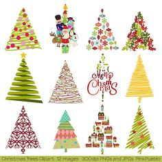 Christmas Tree clipart rustic Christmas Christmas You Clip Pages