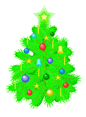 Christmas Tree clipart scene Free 65 Scenes  18