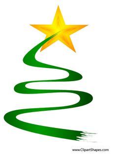 Christmas Tree clipart squiggle Add way  art the