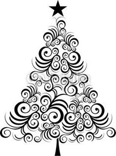 Christmas Tree clipart squiggle On for the com piece