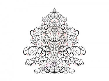 Christmas Tree clipart vintage Vintage vintage Trees Black Christmas