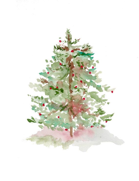 Drawn christmas ornaments abstract Pinterest Tree 25+ Christmas Forest