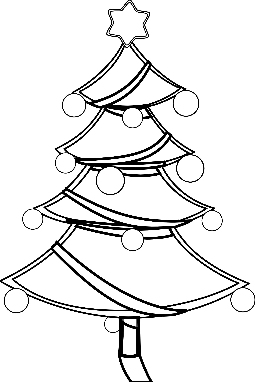 Christmas Tree clipart xmas tree Christmas%20tree%20clipart%20black%20and%20white Clipart Christmas  Tree