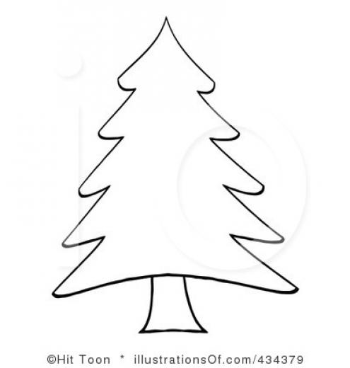 Christmas Tree clipart xmas tree Black Christmas White Tree Clipart