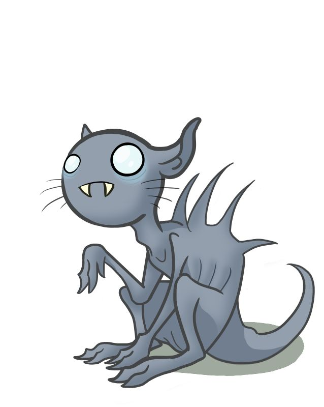 Chupacabra clipart cute #6