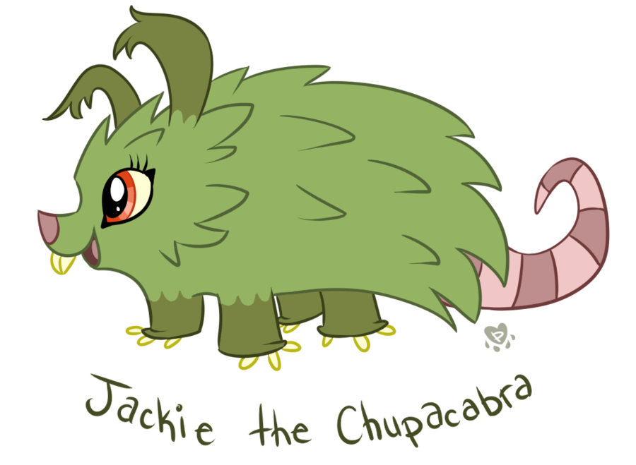 Chupacabra clipart cute #2