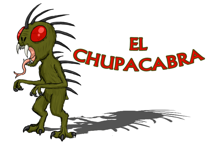 Chupacabra clipart cute #1
