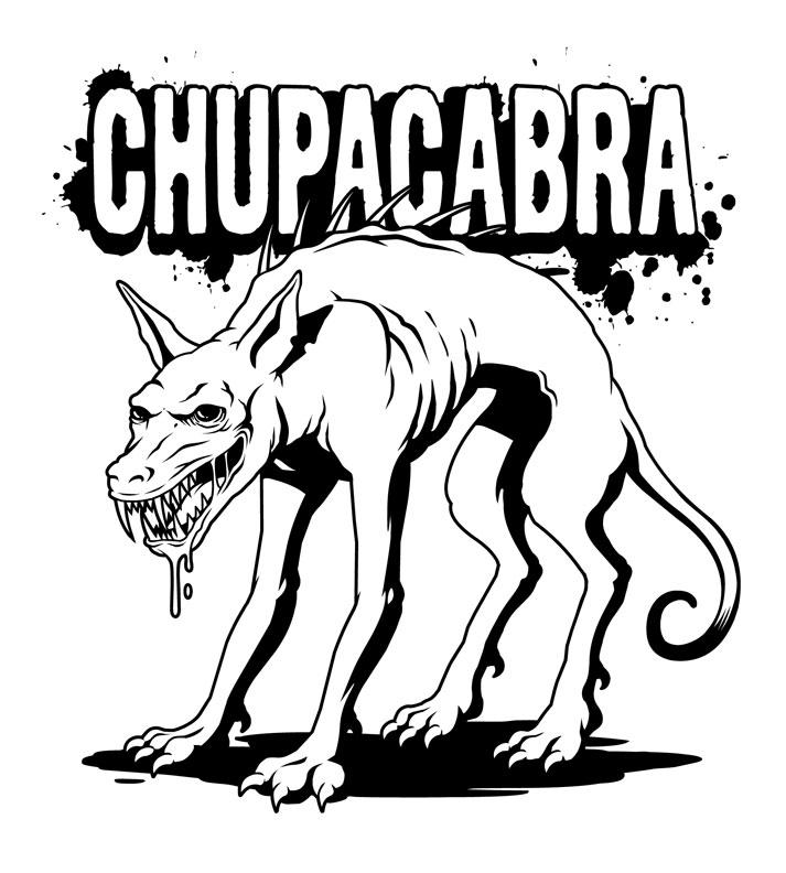 Chupacabra clipart drawing #3