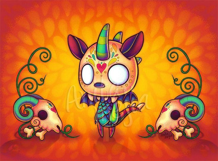 Chupacabra clipart drawing #8