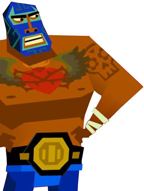 Chupacabra clipart luchador #10