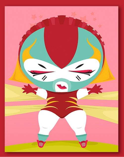 Chupacabra clipart luchador #6
