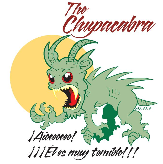 Chupacabra clipart mexico #6