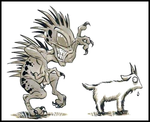 Chupacabra clipart mexico Legends of Mystic's Goat Urban