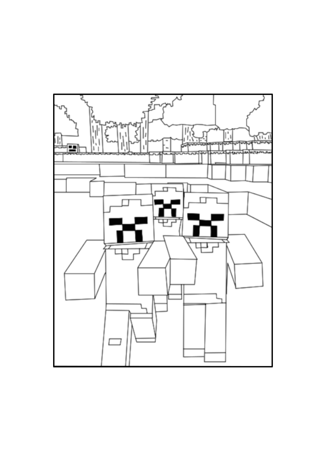 Chupacabra clipart minecraft #5