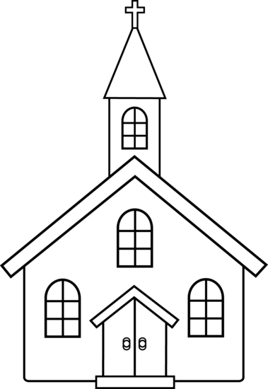 Church clipart Art church  6 art