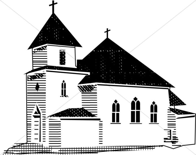 Steeple clipart Church Clipart Images Church White