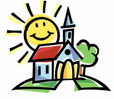 Religion clipart child church #6
