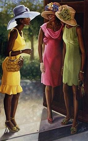 Woman clipart african american church #11