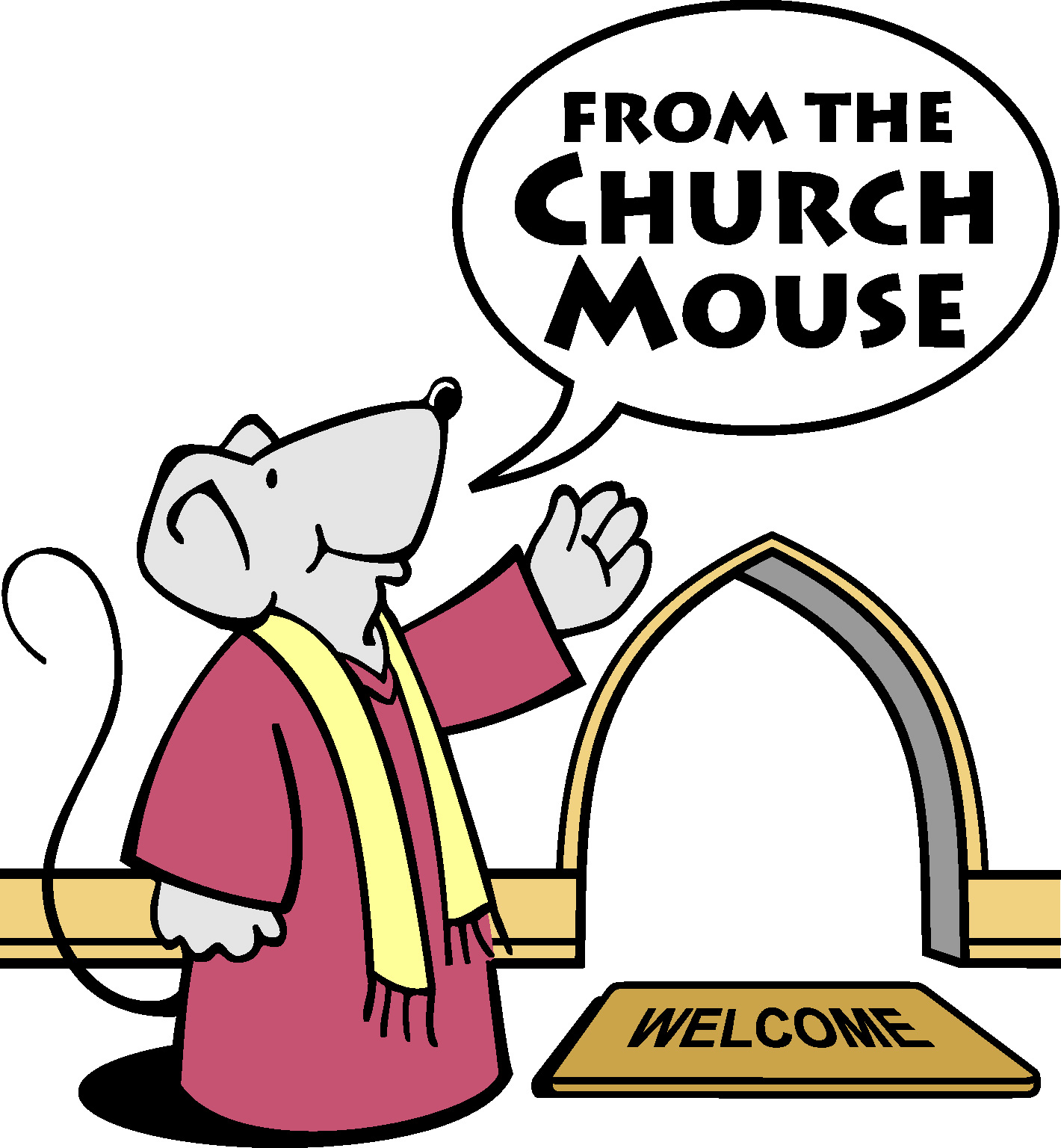 Mouse clipart easy animal Clipart Church  Mouse
