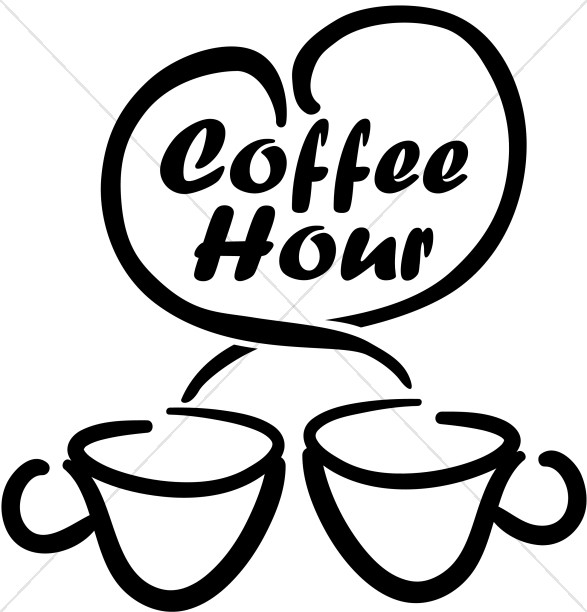 Coffee clipart coffee hour Coffee With Coffee Cups Cups