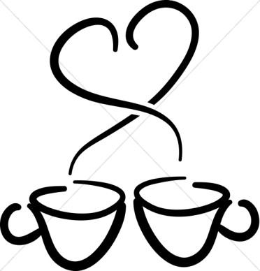 Coffee clipart coffee hour Coffee coffee refreshments church hour