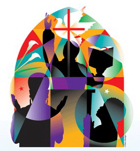 Church clipart community Service art church clip Eve's