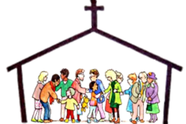 Church clipart community Therese  St Church Catholic