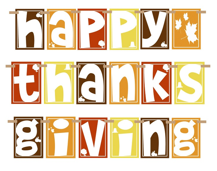 Word clipart happy thanksgiving Moravian Thanksgiving jelly Clipart thanksgiving