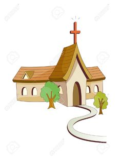 Church clipart vector Churches 15956793 Stock  Selva
