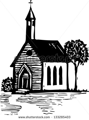 Church clipart vector  Clipart Church Country