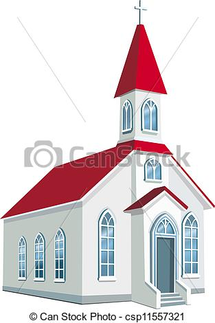 Church clipart vector Church  Christian  EPS