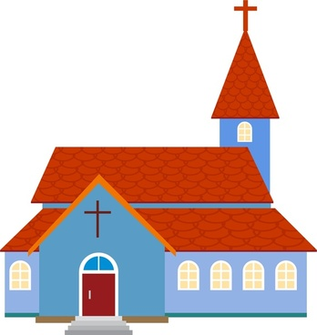 Church clipart vector Eps Free vector) Almost Church