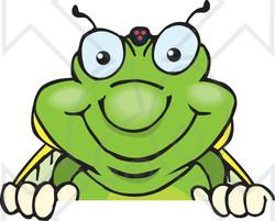 Cicada clipart cute Clipart Sign Cicada over Illustration