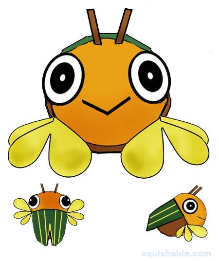 Cicada clipart cute Sweet  Sweet Plush Squishable