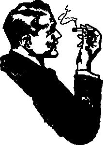 Cigar clipart black and white Art Art Cigar Black Cigar