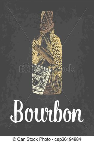 Cigar clipart bourbon Cigar barrel ice cigar of
