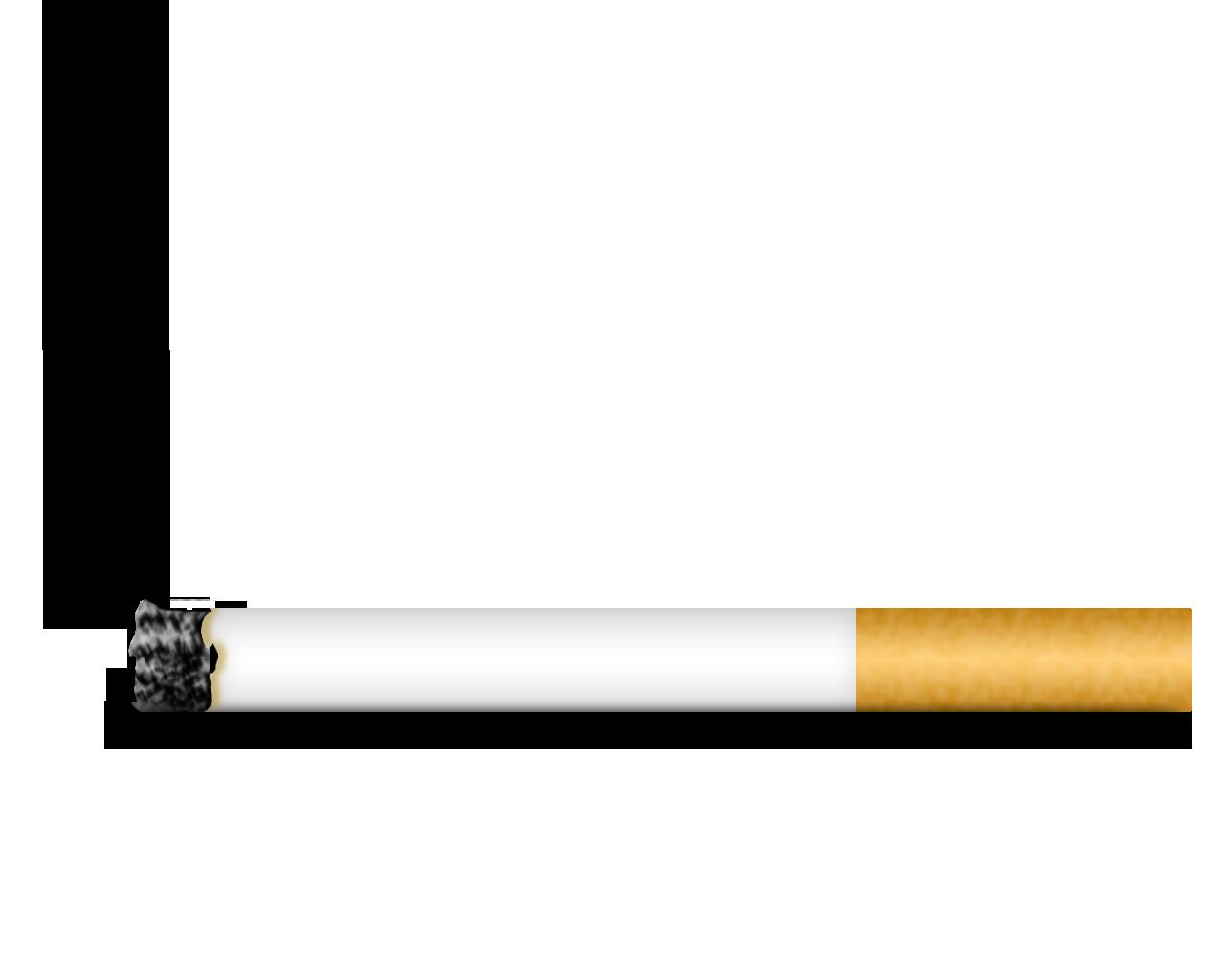 Drawn cigarette transparent background #3