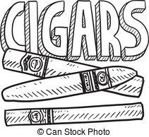 Cigar clipart cuban cigar Vector Clipart of  Cigars