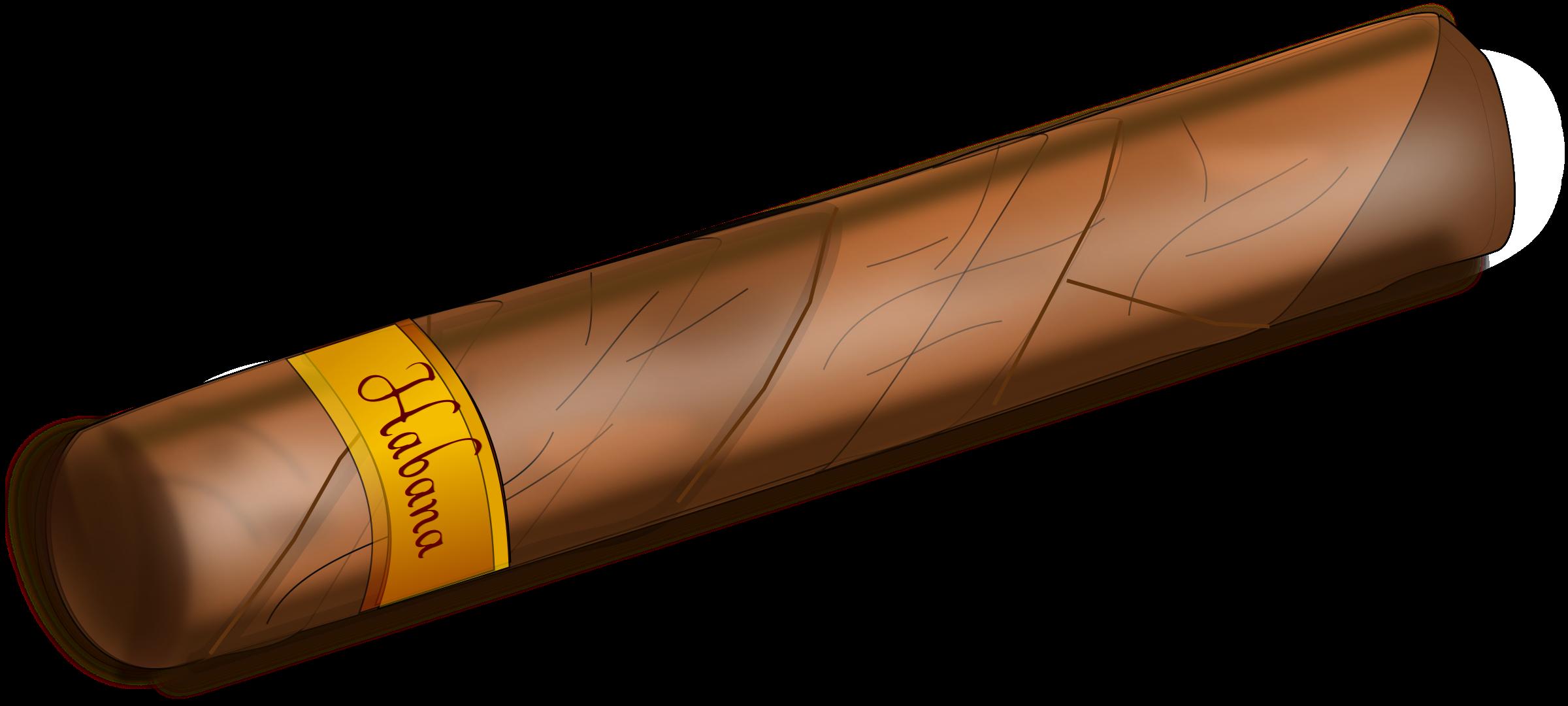 Cigar clipart transparent Cuban cigar Best Art Clip