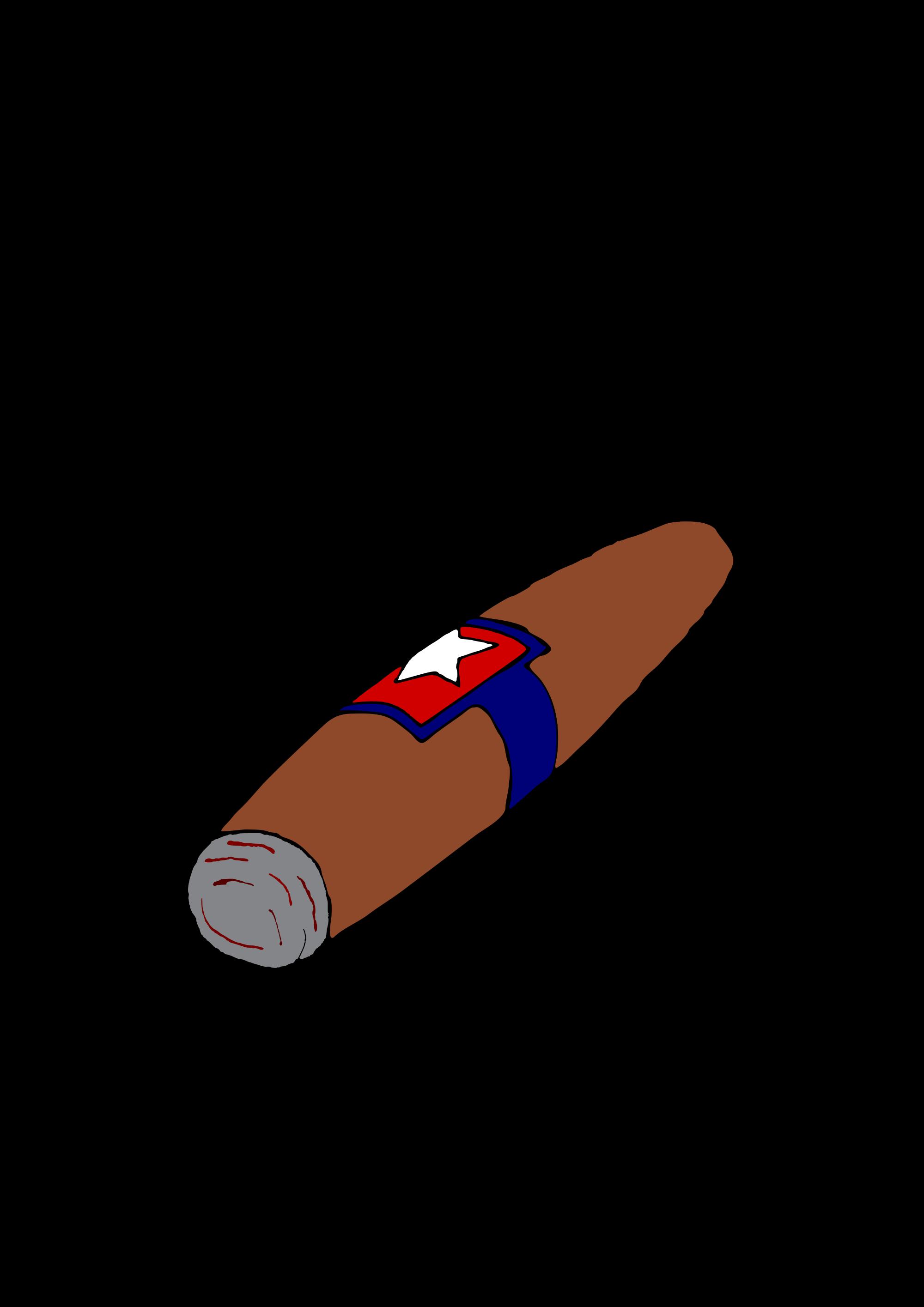 Cigar clipart transparent Commons svg illustration File:Cigar Wikimedia