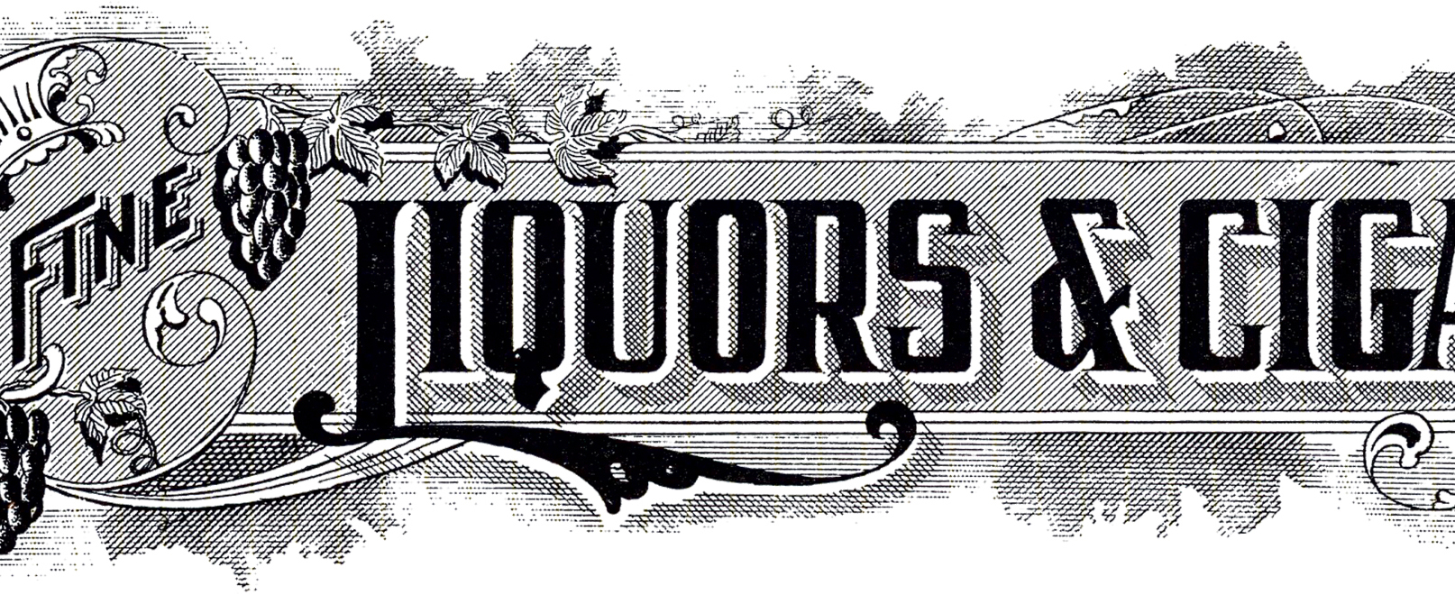 Cigar clipart vintage cigar Fairy Graphics Sign! Liquor Vintage