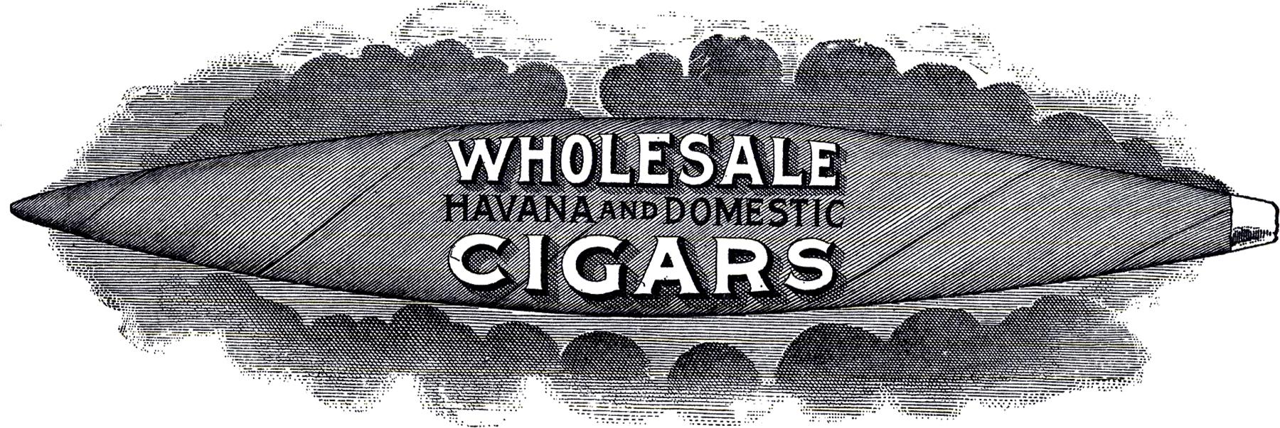 Cigar clipart vintage cigar The Steampunk! Cigar Sign Cigar
