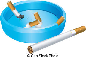 Cigarette clipart ashtray Ceramic ashtray Clip Art of